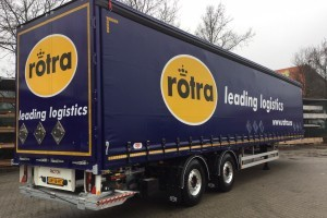 15 Pacton trailers voor Rotra