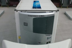 Thermo King met zonnepanelen