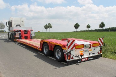 Max Trailers diepbed oplegger MAX510