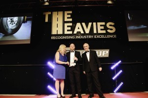 Nooteboom ontvangt Heavies Award in UK