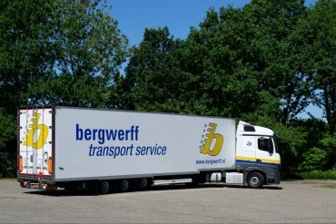 Drie High Security Talson trailers voor Bergwerff
