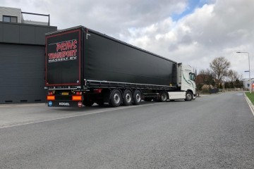 Kögel Black Edition voor Prins Transport