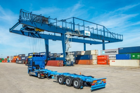 D-TEC levert containerchassis in Zuid Korea