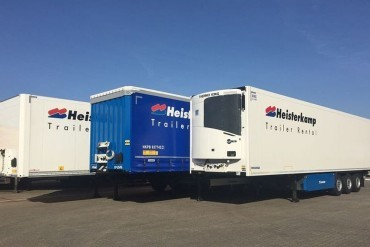 Heisterkamp Trailer Rental & Leasing breidt uit met 400 trailers