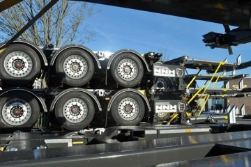 350 Broshuis MFCC chassis voor NNH